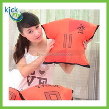 Full color Printed 100 polyester fiber pillow & cushion