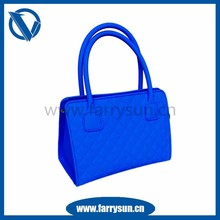 2015 Customized affordable handbags/ silicone rubber purses and handbags