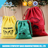 Promotional Newest Drawstring Cotton Dust Bag