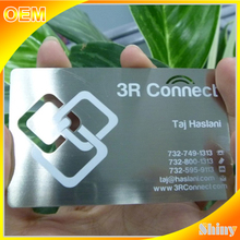 OEM quality very popular Stainless Steel Metal Business Cards