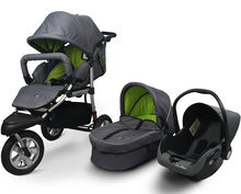 Baby Pushchair 3 in 1 With EN1888 Approval Baby Stroller Baby Pram