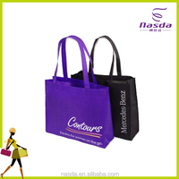 Hot sale custom reusable foldable fashion nonwoven gift shopping bag with logo