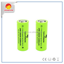 New stock vappower 26650 lipo battery 4200mah 40a 3.7v li polymer battery