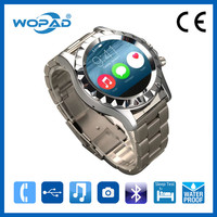 Hot branded watch mobile e-ink display with bracelet design led watch