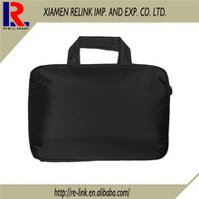 Briefcase executive bag shoulder/handle computer bag,black laptop bag for men