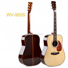 all solid wood acoustic guitar&guitar strings&chinese guitar(WV950S)