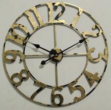 Minhou D60cm Gold Retro Wall Clock