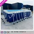 novo comercial piscina armação de metal para venda