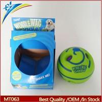 2015 wobble wag giggle dog toy ball