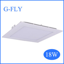 china manufacturer led ceiling panel light recessed 6w 12w 18w round ,square led panel