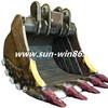 SUNWIN Heavy Equipment Attachments Heavy Backhoe Bucket for Excavator Demag H95