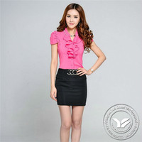 140 grams made in China viscose/cotton girls contrast color sleeveless check shirt
