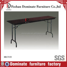 Good quality professional round extending dining table