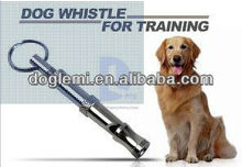High quality Pet Training Adjustable Ultrasonic Sound Key chain Dog Whistle