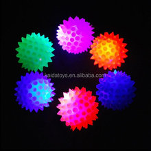 Sell 60mm Led Flashing Bouncy Ball With Colorful Beads