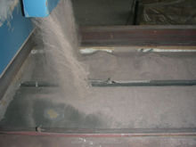 brown fused alumina oxide powder