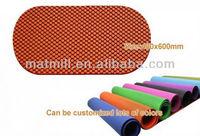 semi-circle bath mat
