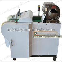 Electric vegetable cubes cutter machine