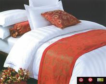 100% cotton stripe jacquard bed sheet