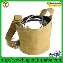 wholesale polyester food Carrier Bag with Strap