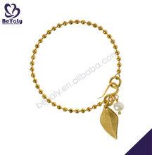 chapado en oro de la hoja de diseño pulseras one direction