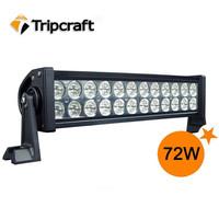 High intensity dual row 3W led auto lamp off road car led light bar for trucks,CE /ROHS/IP67