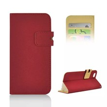 soft pu leather flip case for Iphone 6, for iphone 6 case, pu phone case