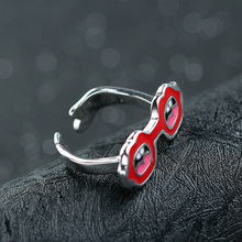 Red spectacles new design 925 sterling silver jewellery latest products in market