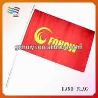 Plastic Custom Hot 2014 Hand Flags