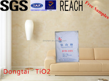 Paper-making Titanium Dioxide Tio2 rutile Price DTR-406 For wallpaper for house-decorated