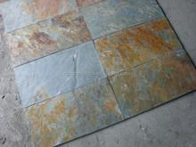 green slate paver