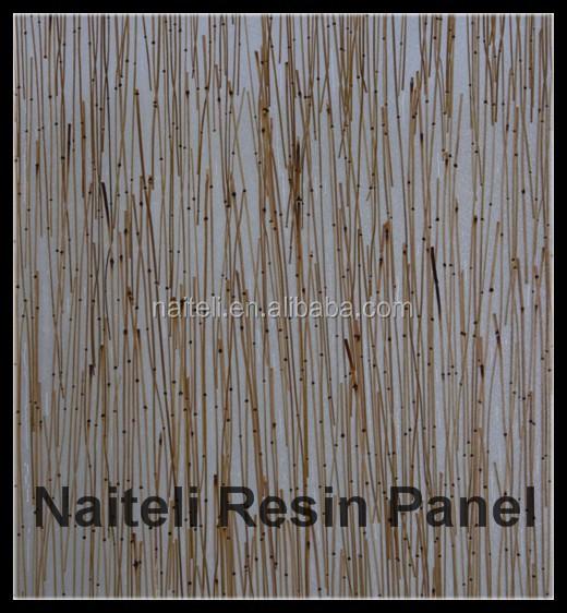 Bamboo waterproof bathroom wall covering panels