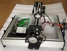 1pc 2000mw Large Area Mini DIY Laser Engraving Engraver Machine Laser Printer Marking Machineree shipping by DHL