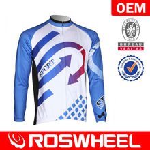 Men's long sleeve custom cycling wear