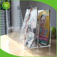 Cheap Acrylic Box File Size A3 A4 A5 Document Case Holder