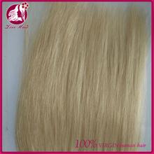 Premium quality human virgin original hair, full cuticle hand tied 8-30inch virgin remy peruvian hair weft