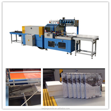 SF728-L heat shrink wrapping packing machine with shrink tunnel