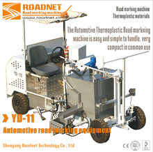 Automotive thermoplastic road marking equipment