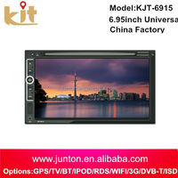 Quality assurance pioneer double din dvd car