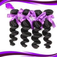Malaysian loose wave 4 bundles lot 100% human hair for braiding bulk no attachment, 5a virgin hair premium too human hair