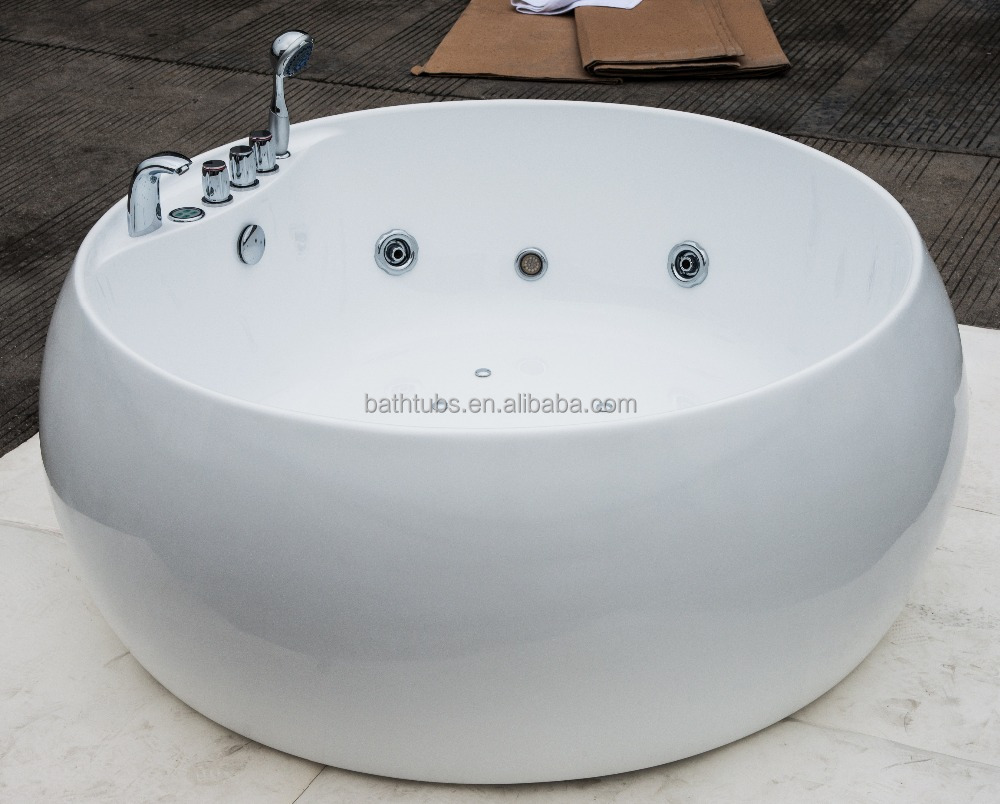 sunzoom upc cupc certified round whirlpool bathtub bathtub