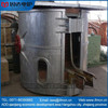 Newest design high quality 2t cast iron melting induction furnace