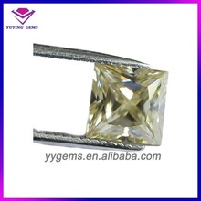Certified Supplier Cut White Yellow Princess Brilliant Loose Stones Moissanite