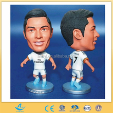plastic football player figure oem plastic fantasy soccer action figures