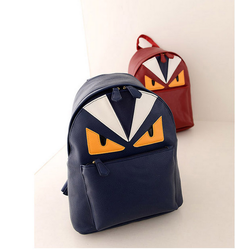 Fashionable leather bag Guangzhou women leather backpacks
