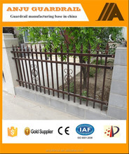 ISO Certificated Direct factory of Decorative garden metal fence DK002