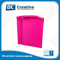 Wholesale Poly Bubble Mailers Envelope Pink Red