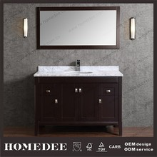 2015 Tall bathroom vanity American furniture design metal base for sale