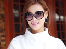 ewhxyj 2014 European and American retro sunglasses repair face great circle frame sunglasses UV sunglasses wholesale influx of f