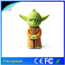 Star wars USB drive R2D2/Darth vader/Yoda sets models usb 2.0 memory flash stick pen drive for X-mas promotion
